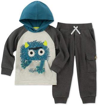 Kids Headquarters Baby Boys 2-Pc. Monster Hoodie & Jogger Pants Set