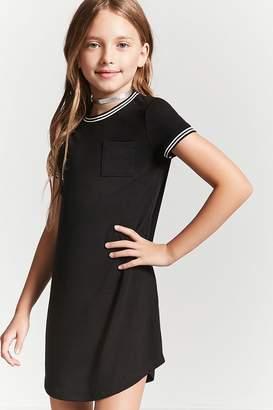 Forever 21 Girls Ringer T-Shirt Dress (Kids)