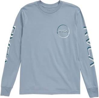 RVCA Big Glitch Graphic Long Sleeve Shirt