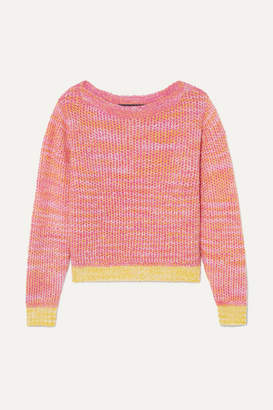 The Elder Statesman Flowers Of Life Cashmere Sweater - Pink
