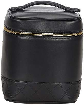 Chanel Leather vanity case