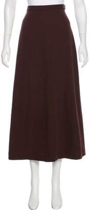 Jean Paul Gaultier Classique Virgin Wool A-Line Skirt