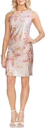 Vince Camuto Wildflower Sequin Sheath Dress