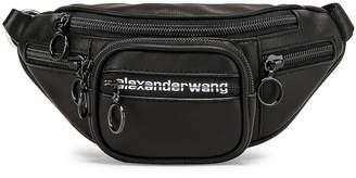 Alexander Wang Attica Soft Mini Fanny Crossbody Bag in Black   FWRD
