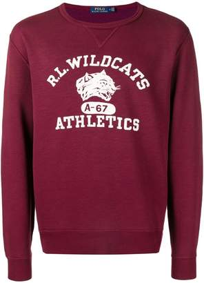 Polo Ralph Lauren wildcats sweatshirt