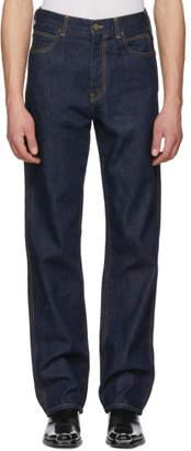 Calvin Klein Blue Oversize Jeans