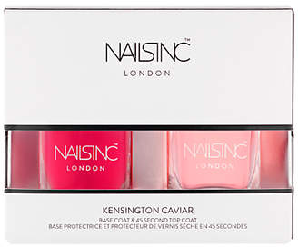 Nails Inc Kensington Caviar Top & Base Coat Duo