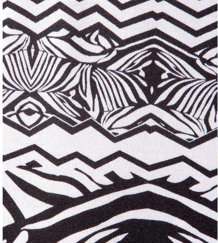Diane von Furstenberg New Reina Two printed silk-jersey dress