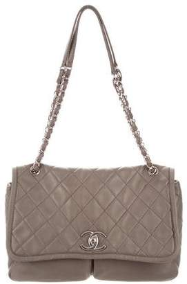 Chanel Large Natural Beauty Flap Bag
