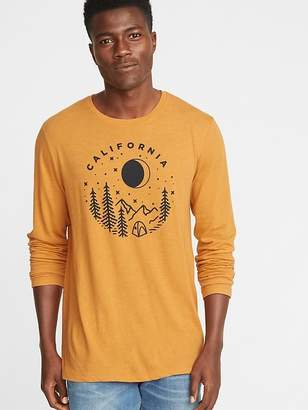 Old Navy Soft-Washed Graphic Crew-Neck Tee for Men