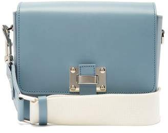 Sophie Hulme The Quick Small Leather Cross Body Bag - Womens - Blue Multi