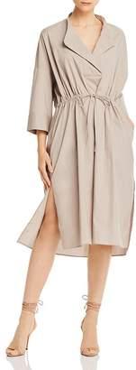 French Connection Adoni Cotton Poplin Midi Dress