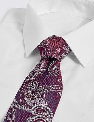 Marks and Spencer Pure Silk Paisley Tie