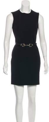 Gucci Wool Belted Dress