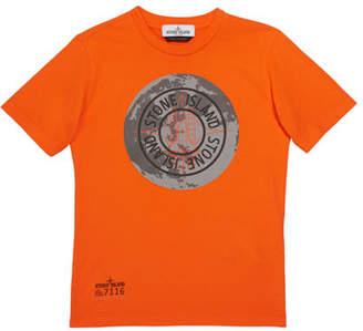 Stone Island Boys' Moonlanding Screen-Print Logo T-Shirt, Size 12