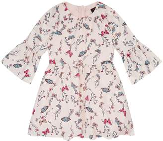 Juicy Couture Butterfly Garden Satin Dress