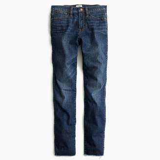 J.Crew Vintage straight jean in Mayville wash with cut hem
