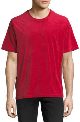 Ovadia & Sons Velour Cotton T-Shirt