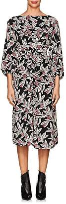 Etoile Isabel Marant Women's Lisa Floral Crepe Midi-Dress