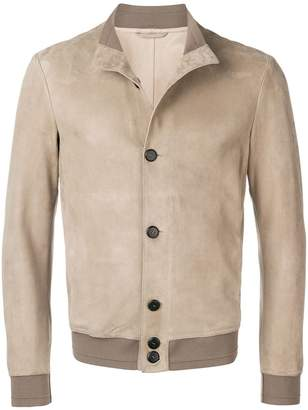Giorgio Armani fitted button-up jacket