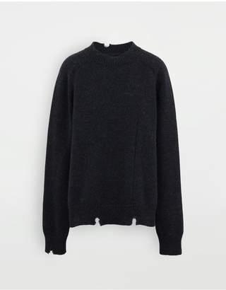 Maison Margiela Destroyed Wool Sweater