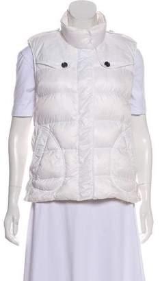 Burberry Goose Down Zip-Up Vest