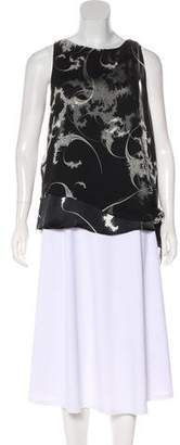 Thomas Wylde Sleeveless Printed Top