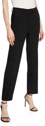 Kiton Wool Crepe Cigarette Pants