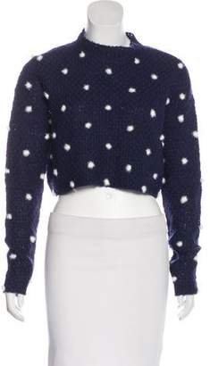 Tularosa Cropped Knit Sweater