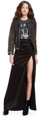 Alice + Olivia Kidman Studded Leather Jacket