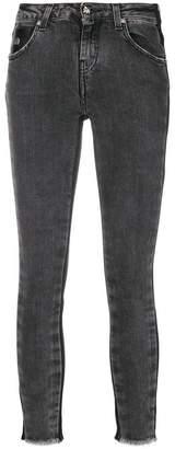 John Richmond side stripe skinny jeans