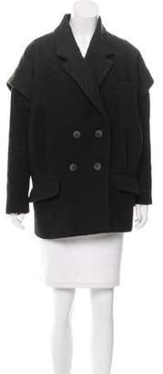 Zac Posen Ombré Wool-Blend Coat