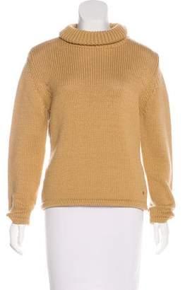 Post Card Wool Turtleneck Sweater
