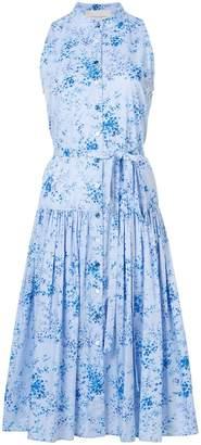 Carolina Herrera drop waist floral dress