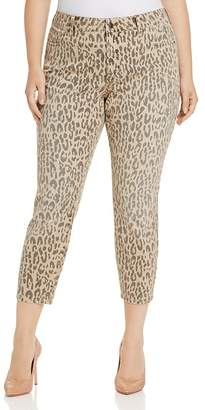 NYDJ Plus Alina Legging Ankle Jeans in Fari Tan - 100% Exclusive