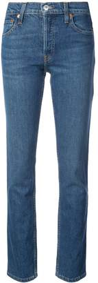 RE/DONE The Crawford High-Rise Straight-Leg Jeans