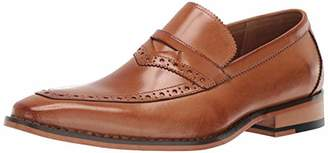 Stacy Adams Men's Sanhurst Moc-Toe Penny Slip-on Loafer