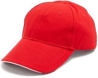 Balenciaga Europa-embroidered cotton cap