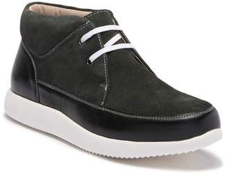 Stacy Adams Buckley Leather Mid Top Sneaker