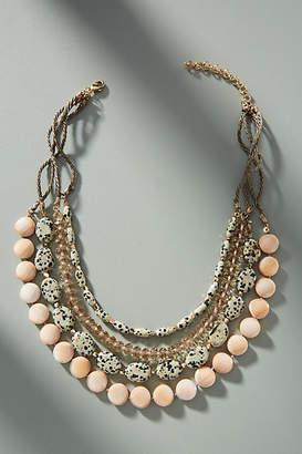 Anthropologie Beadwork Layered Necklace