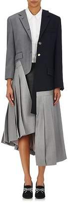 "Thom Browne Women's ""Reconstructed Classics"" Layered Coat"