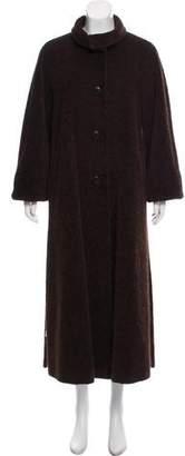 Max Mara Alpaca-Blend Long Coat