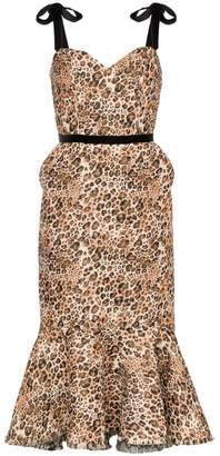 Johanna Ortiz Love Between Species leopard print dress