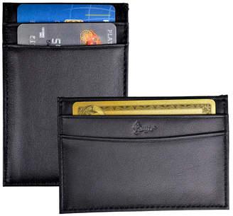 Royce Leather Royce Minimalist Credit Card Case Wallet in Genuine Leather