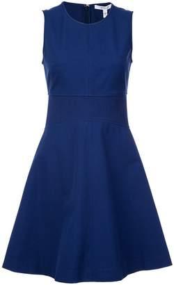Derek Lam 10 Crosby Sleeveless Fit & Flare Dress with Corset Waist