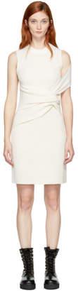 3.1 Phillip Lim Off-White Draped Twist Dress