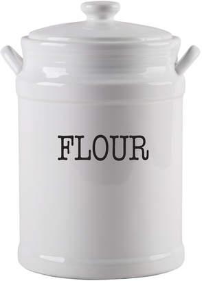 La Cucina White Flour Ceramic Canister