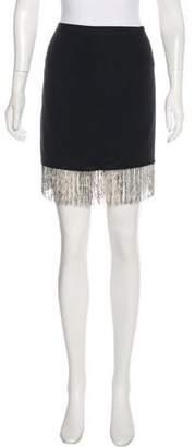 Elizabeth and James Silk Knee-Length Skirt w/ Tags