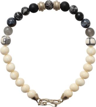 Monique Péan Fossilized Mammoth Bead Bracelet