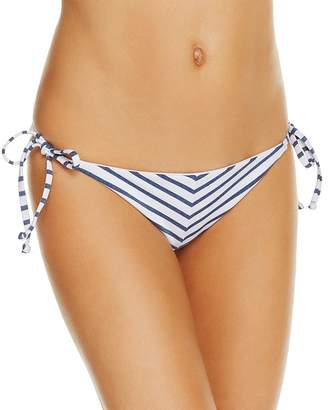 Splendid Chambray Side Tie Bikini Bottom
